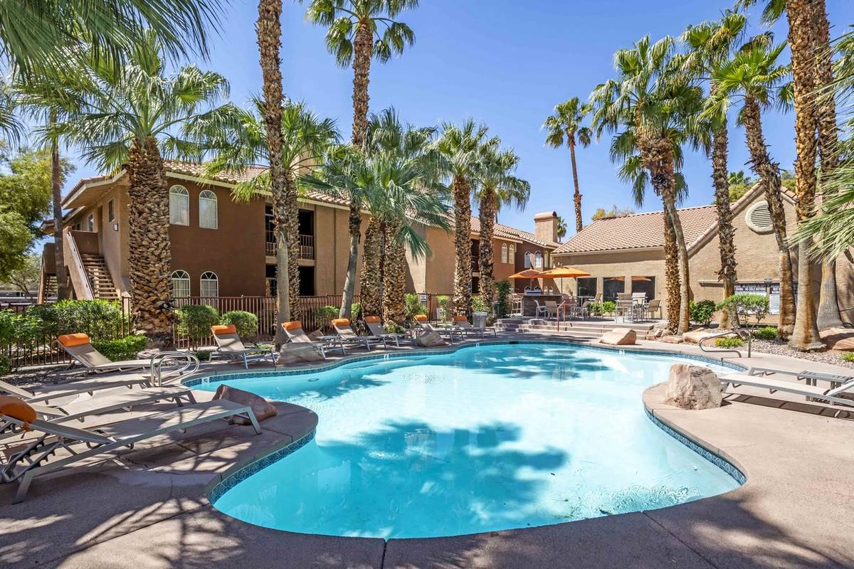 The Bascom Group acquired Spectrum at Katie, a Las Vegas apartment complex seen here, as part o ...