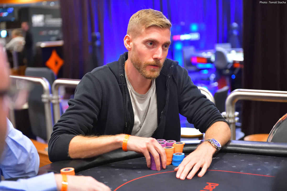 Manig Loeser, shown in a 2019 file photo, won Event 2 of the World Series of Poker Online early ...