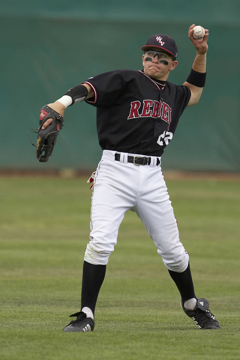 Blake Gailen. UNLV baseball vs. TCU on April 14, 2007. Client: SID / UNLV Photo Services / R ...