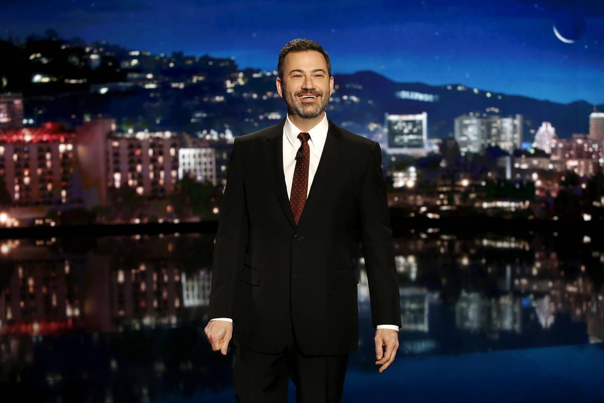 """Jimmy Kimmel Live!"", staring former Las Vegas resident Jimmy Kimmel, received two Emmy nominat ..."