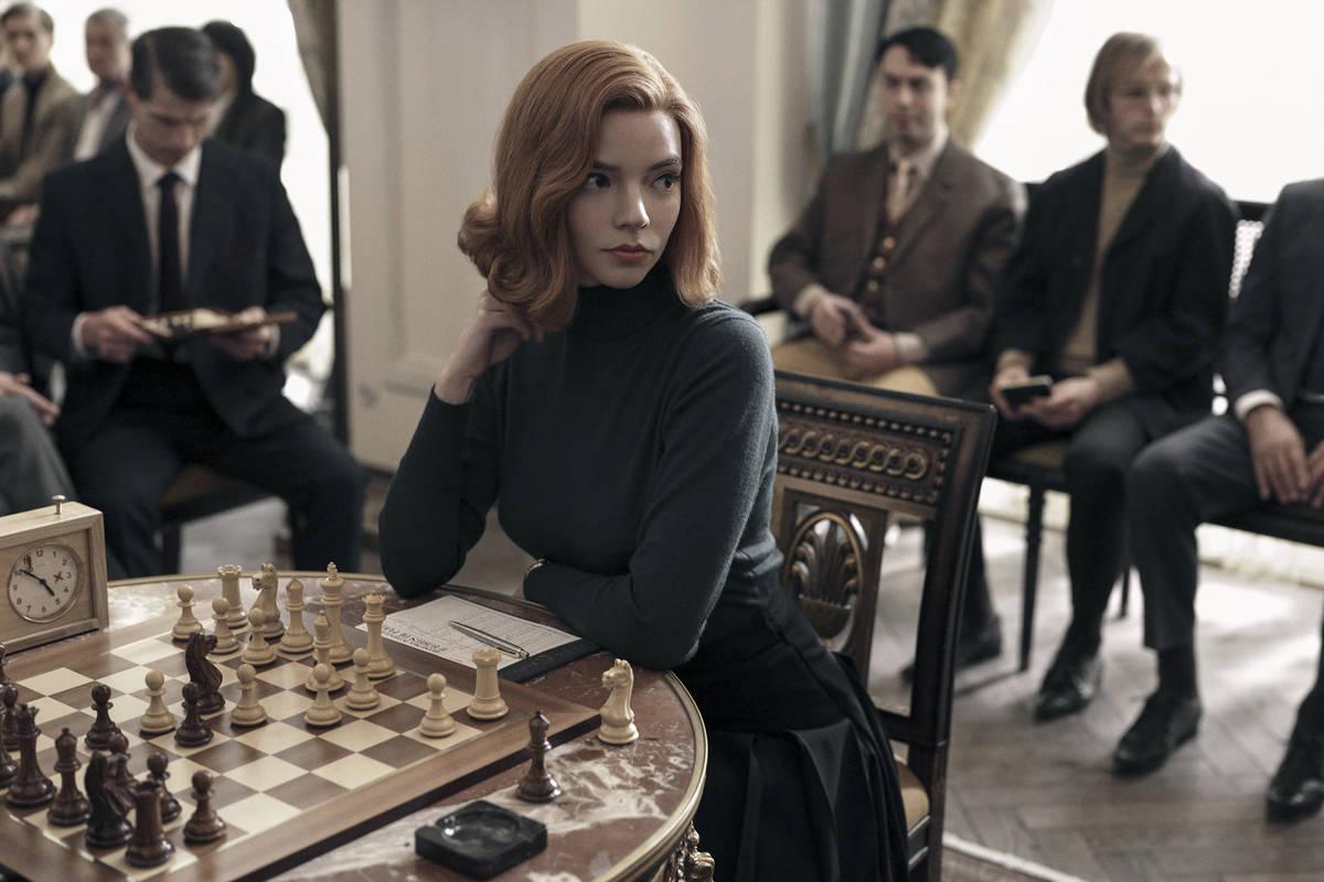 """Anya Taylor-Joy stars in """"The Queen's Gambit."""" (Charlie Gray/Netflix)"""