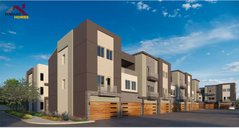 Edward Homes plans to develop Thrive, a 43-unit townhouse complex in the Summerlin area of Las ...