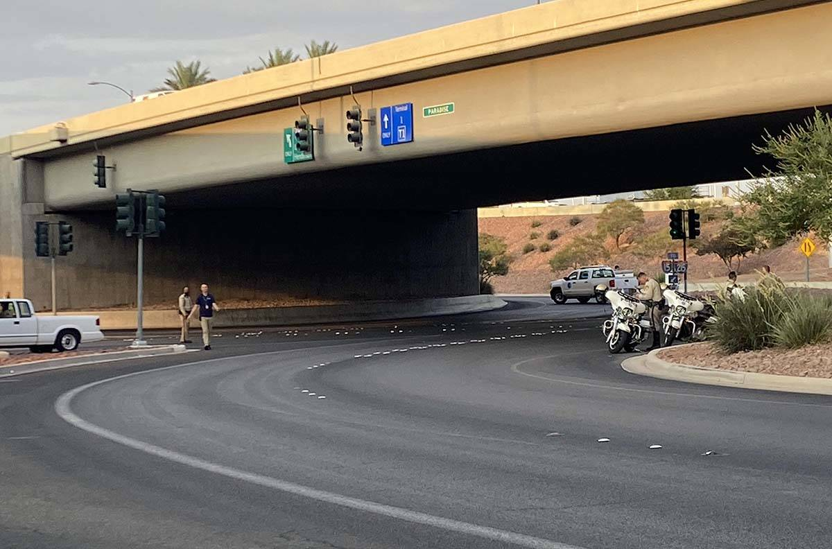 A fatal crash at McCarran International Airport early Thursday was expected to have only a mode ...