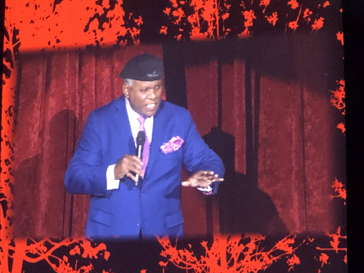 Westgate Las Vegas headliner George Wallace opens for Celine Dion's final performance at ...