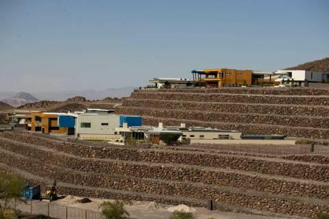 The Ascaya luxury community in Henderson, Thursday, July 1, 2021. (Erik Verduzco / Las Vegas Re ...