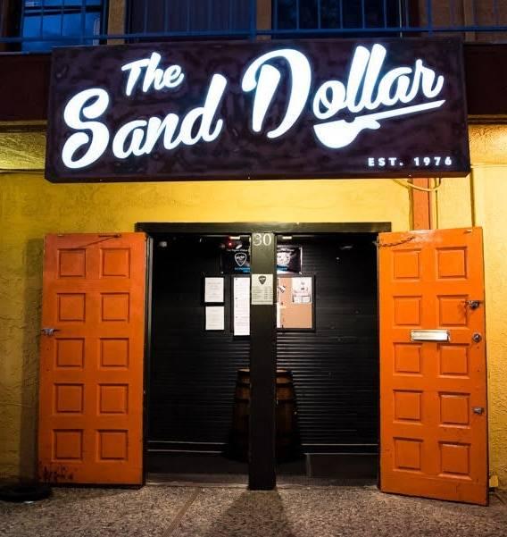 The entrance of the original Sand Dollar Lounge location. (Sand Dollar)