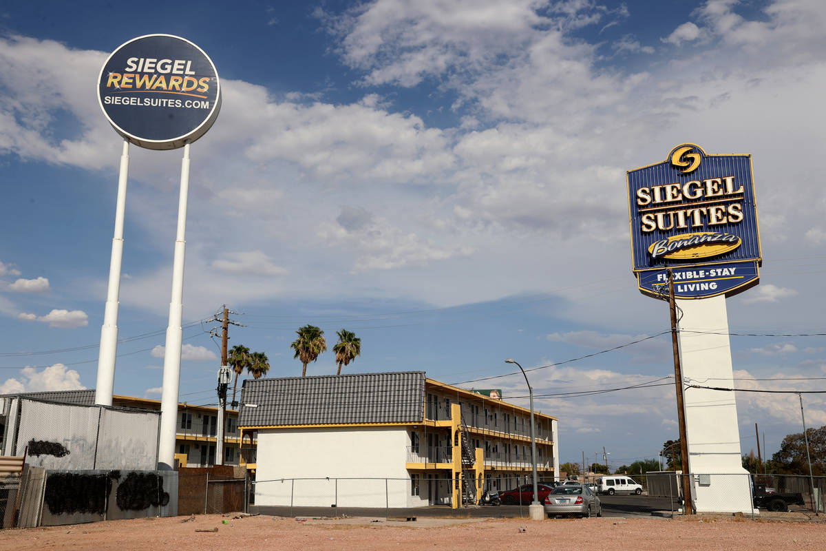 Siegel Suites Bonanza in Las Vegas Tuesday, July 20, 2021. (K.M. Cannon/Las Vegas Review-Journa ...
