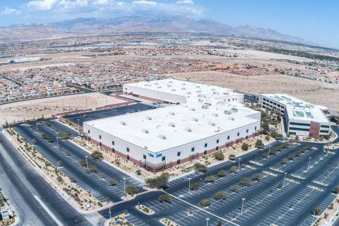 Real estate firms Brookhollow and PCCP acquired the industrial property at 7900 W. Sunset Road ...