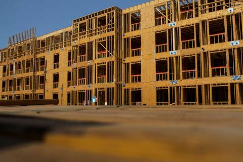 The construction site of the Decatur Commons, an affordable housing project by nonprofit develo ...