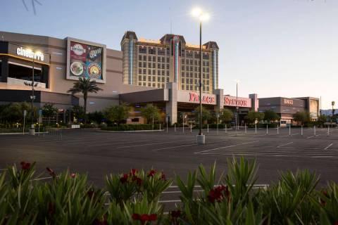 Palace Station photographed on Thursday, May 21, 2020, in Las Vegas. (Bizuayehu Tesfaye/Las Veg ...