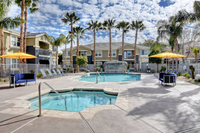 InTrust Property Group purchased the 198-unit Atlas Apartment Homes in Las Vegas, seen here. (C ...