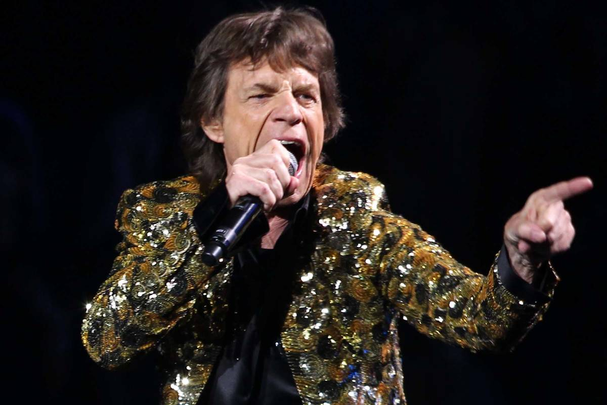 The Rolling Stones will be the fourth music act to headline Allegiant Stadium. (Chase Stevens/ ...