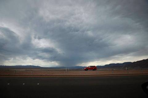 The chances of rain are expected to increase through the weekend, according to the National Wea ...