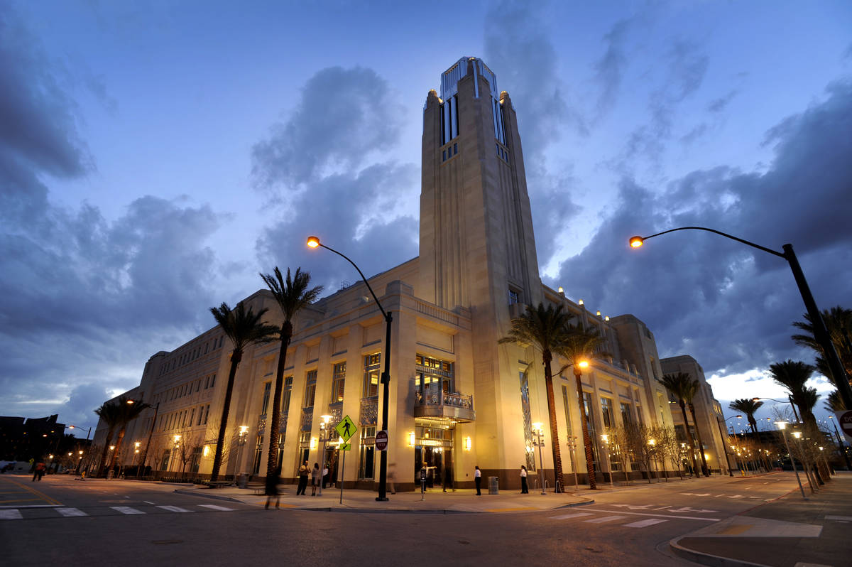 The Smith Center For The Performing Arts on Monday, Feb. 27, 2012. (Las Vegas Review-Journal)