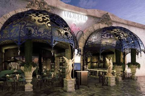 A rendering of Vanderpump a Paris at Paris Las Vegas. (Caesars Entertainment)