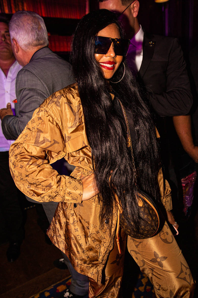 "Ashanti is shown Ashanti at Brian Newman's ""After Dark"" show at NoMad Restaurant on Saturday, O ..."