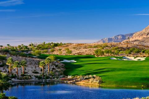The Summit Club in Summerlin has set the price-per-square-foot record for the valley. A buyer p ...