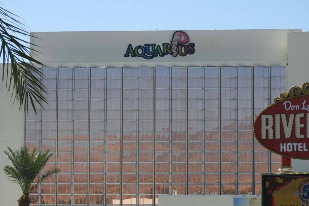 Aquarius Casino in Laughlin (Mat Luschek/Las Vegas Review-Journal)
