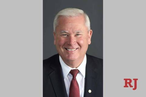 Retired U.S. Army Col. Mark Robertson is seeking the Republican nomination in Nevada's 3rd Cong ...