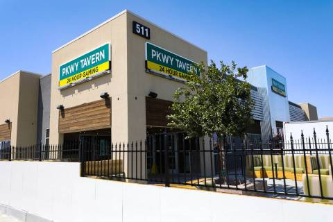 The new PKWY Tavern in Henderson, near St. Rose Parkway and the M Resort, on Thursday, Aug. 5, ...