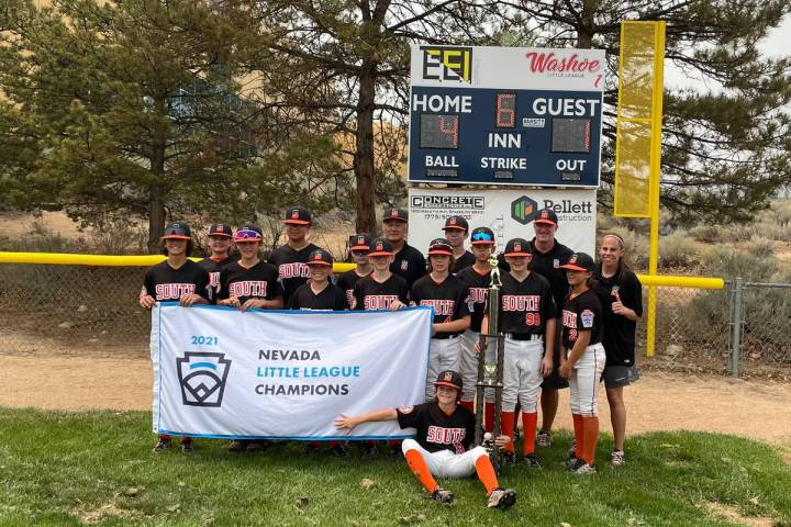 Summerlin South won the Nevada state Little League baseball championship. Photo courtesy of Tod ...