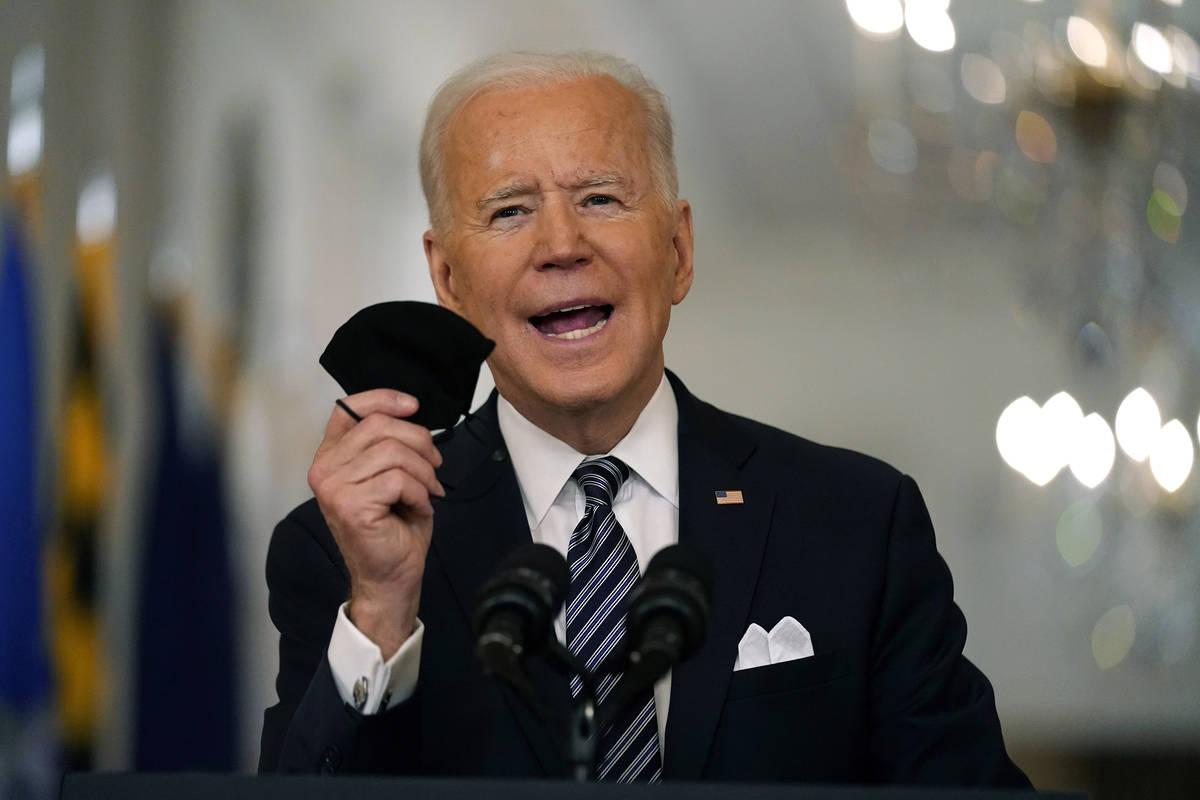 President Joe Biden. (AP Photo/Andrew Harnik, File)