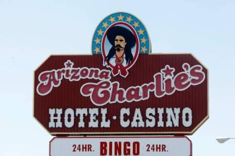 Arizona Charlie's hotel-casino on 740 S. Decatur Blvd., Monday, June 12, 2017, in Las Vegas. Th ...