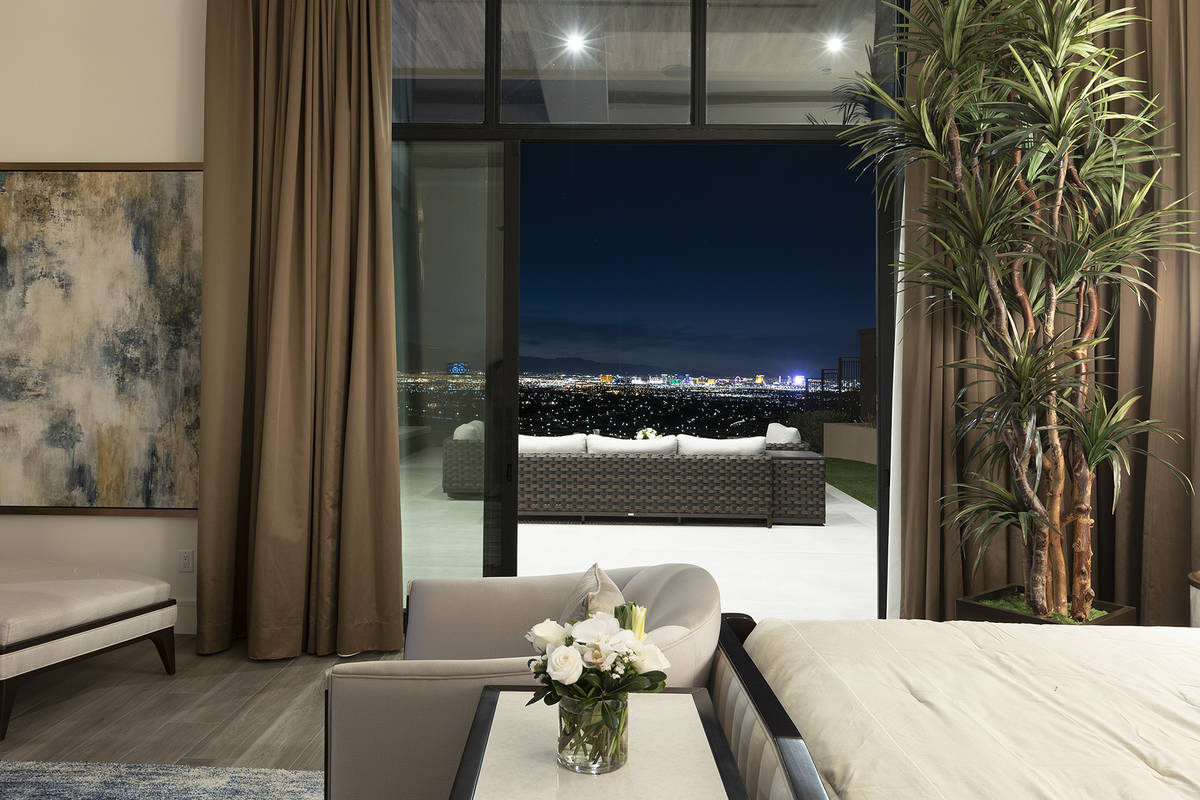 The home features stunning views. (Kristen Routh-Silberman)