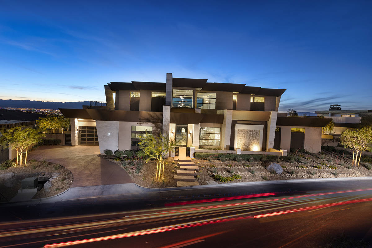 This Ascaya home sold for $10.5 million, making it the top price for July luxury home sales. (K ...