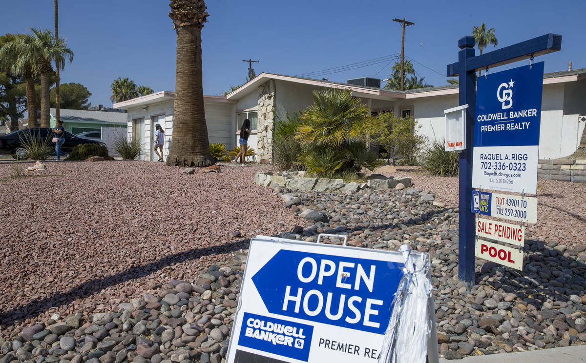 Gov. Steve Sisolak has now reduced restrictions and realtors can once again show properties in ...