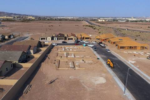 The Rhapsody subdivision by developer StoryBook Homes, is seen in Henderson's Cadence community ...
