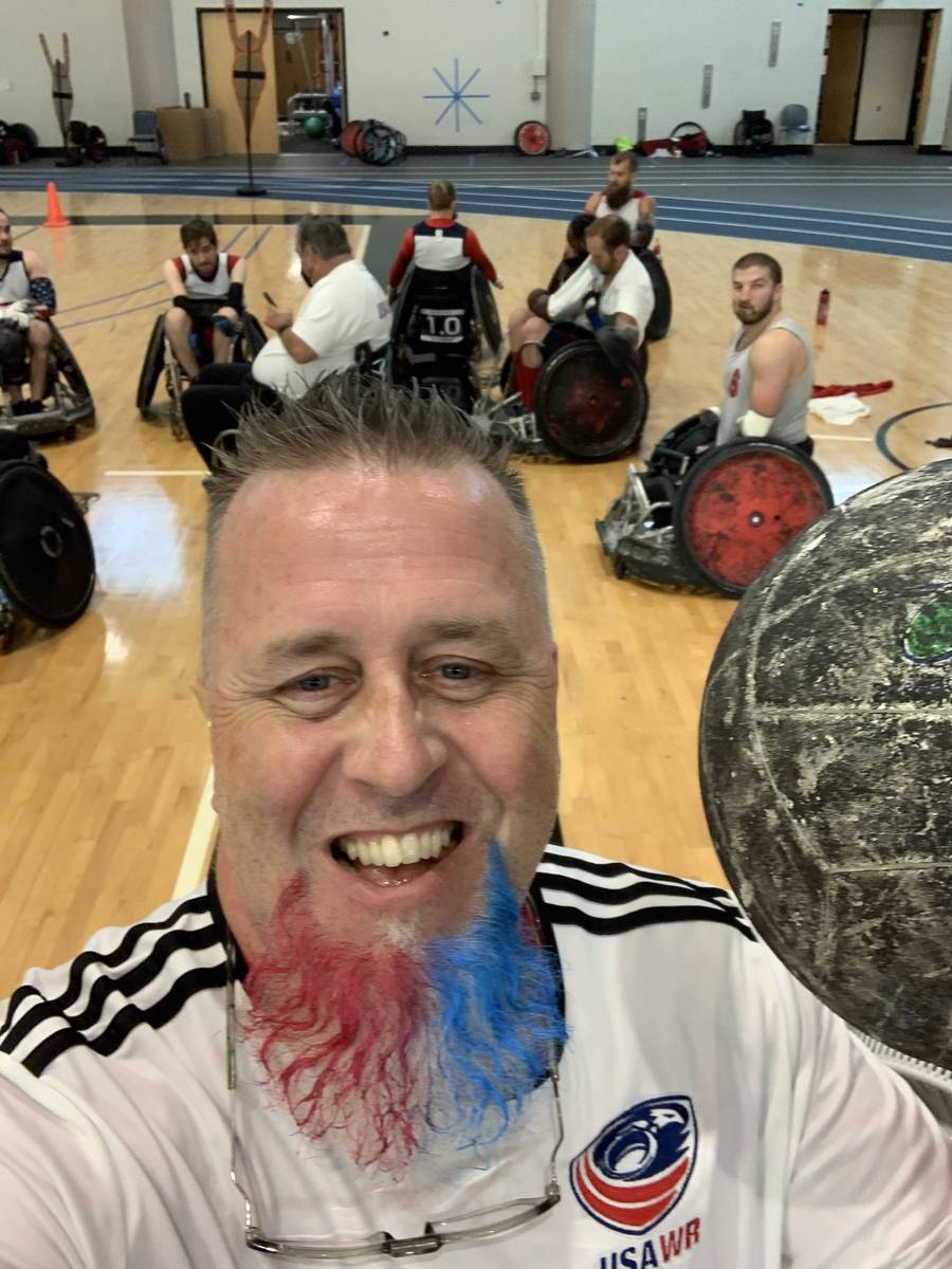 Las Vegas native Bob Murray is attending his fourth Paralympics as equipment manager of the U.S ...