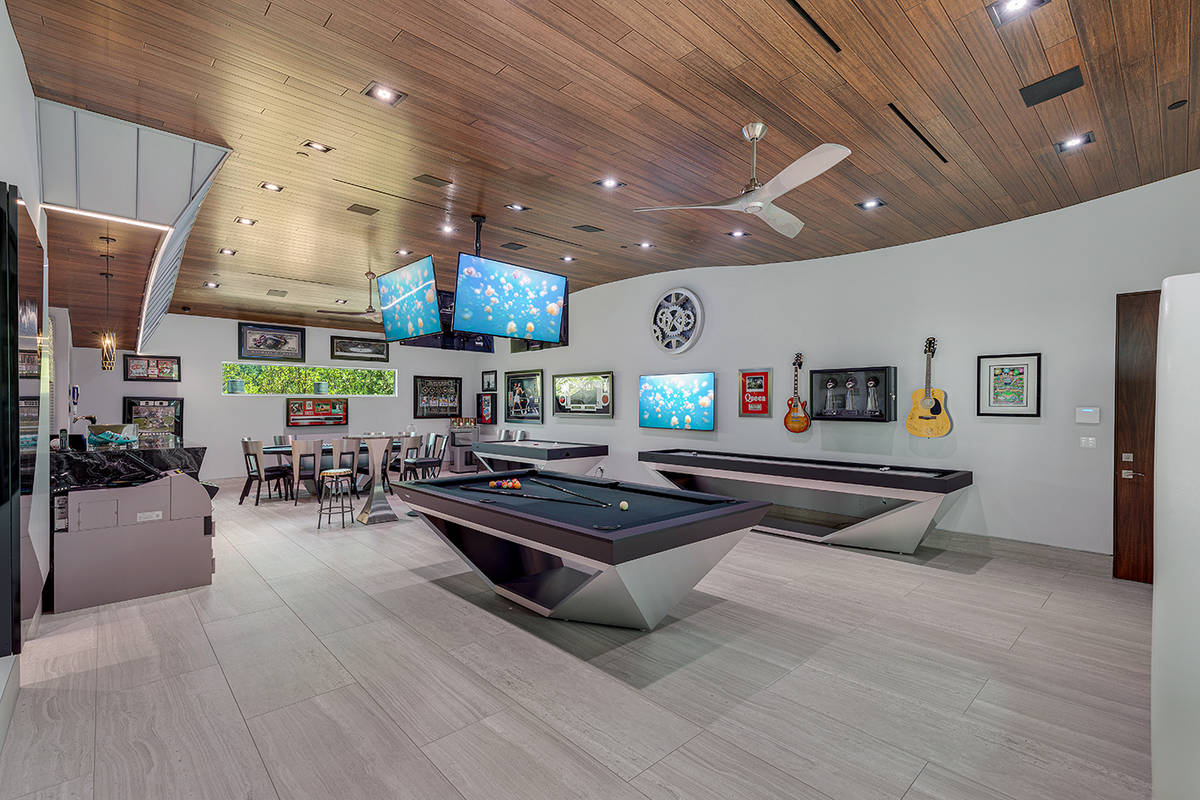 The game room. (The Ivan Sher Group)