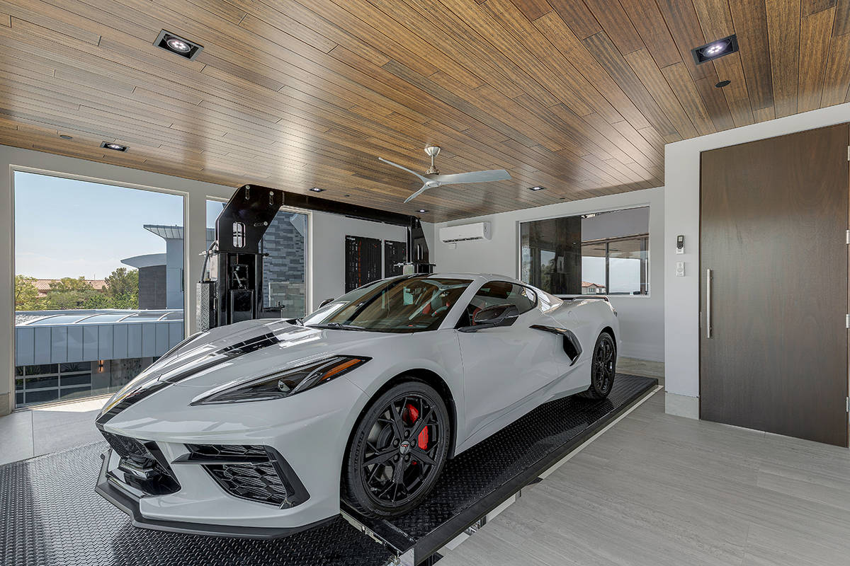 One of three garages. (The Ivan Sher Group)