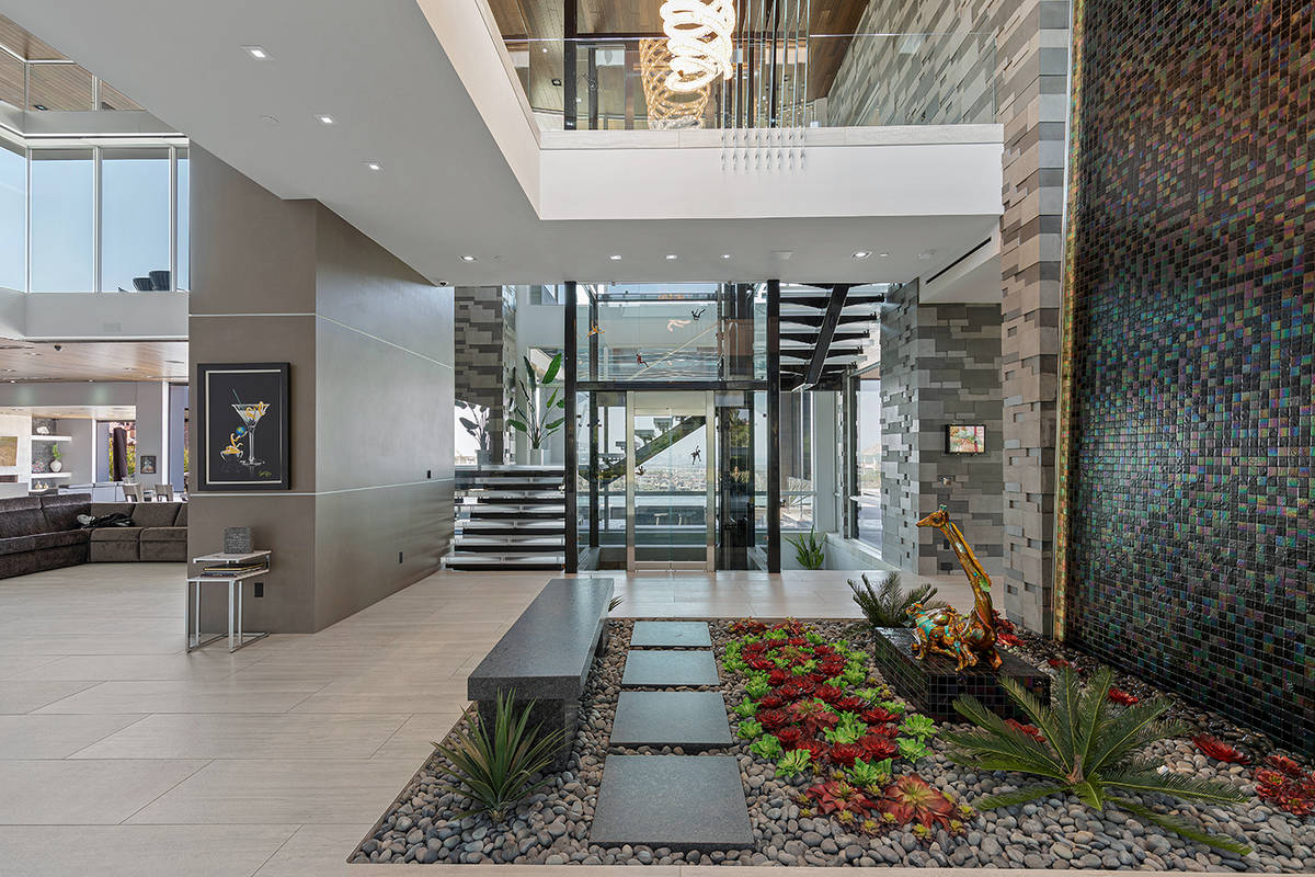 The home has three levels. (The Ivan Sher Group)