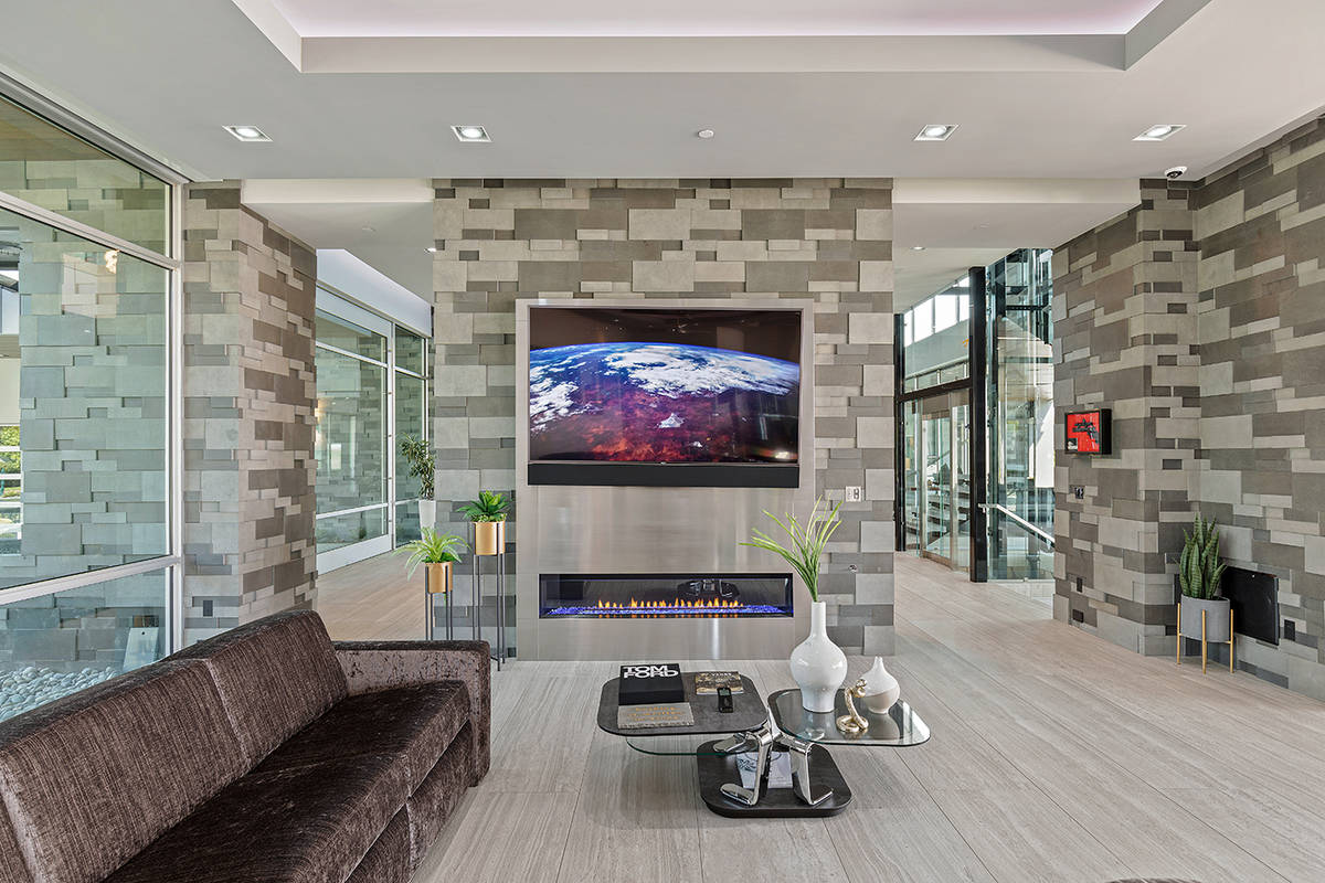 A media room. (The Ivan Sher Group)