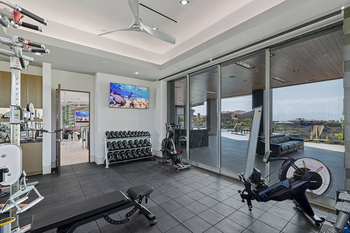 The gym. (The Ivan Sher Group)