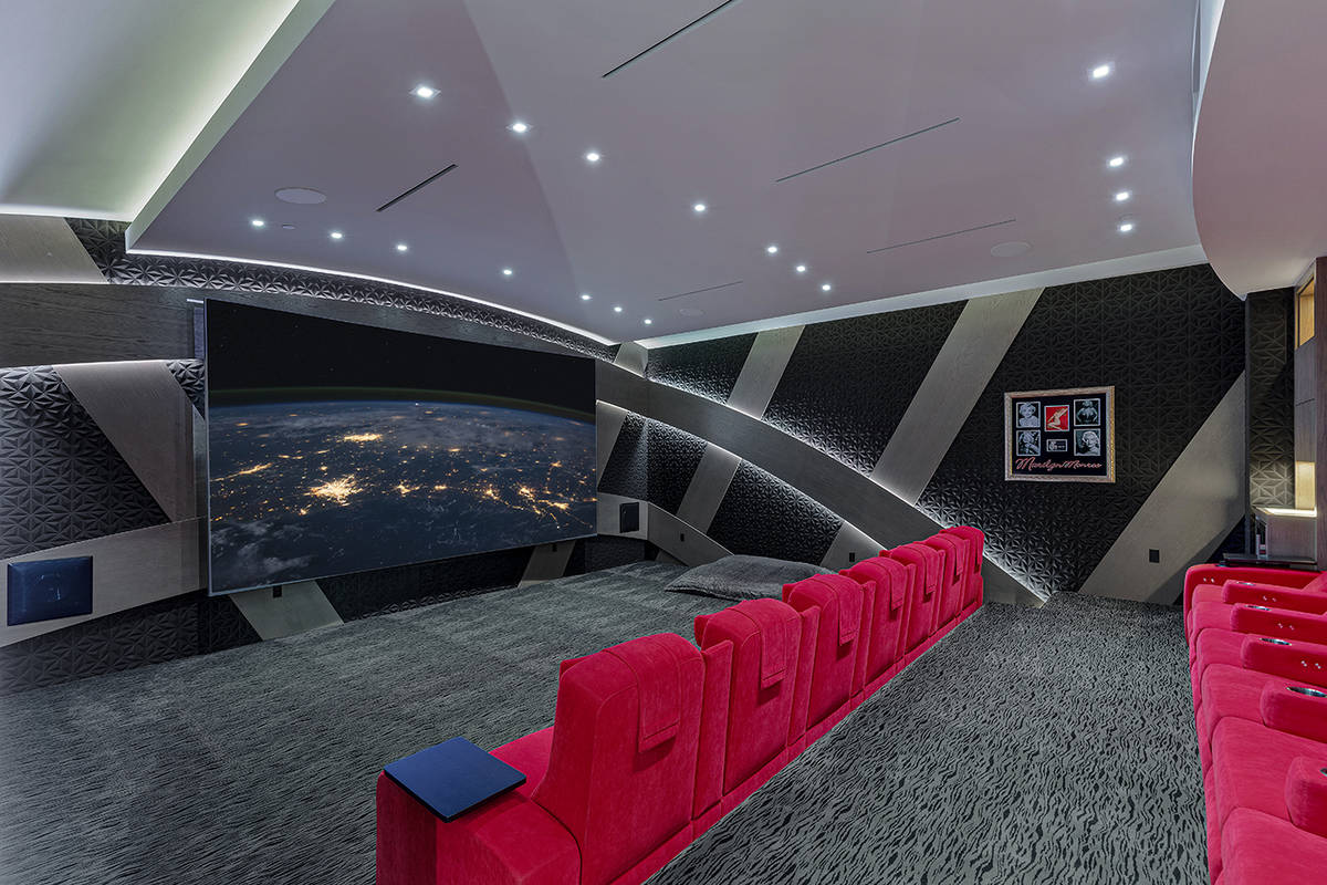 The home theater. (The Ivan Sher Group)