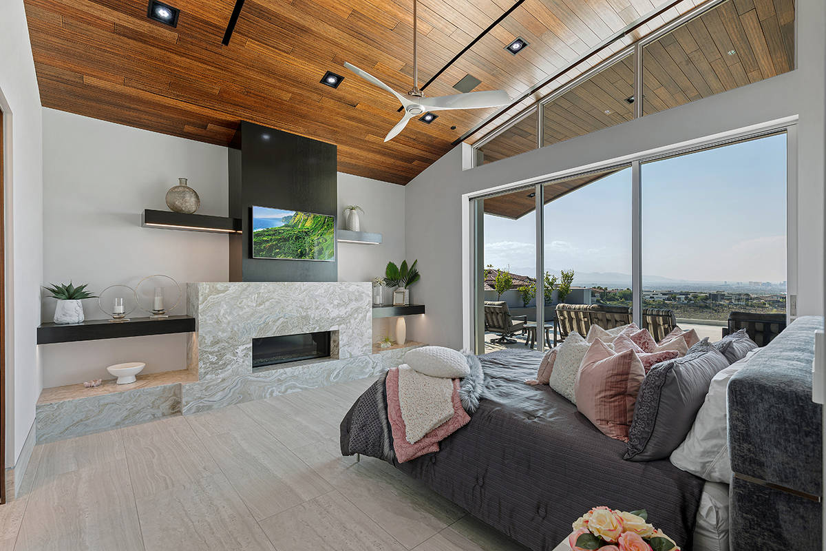 A guest bedroom. (The Ivan Sher Group)