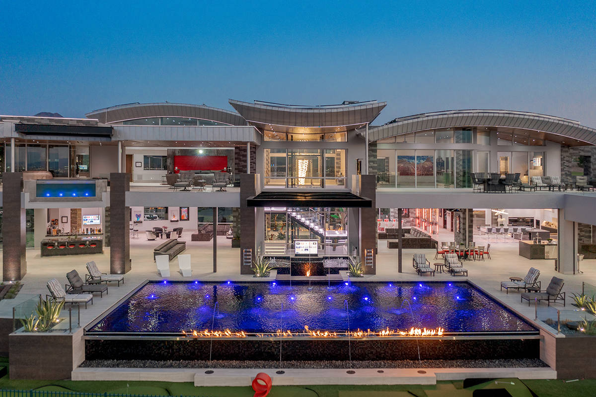 Businessman Mark Lindsey has placed his high-tech Seven Hills mansion on the market for $32.5 m ...