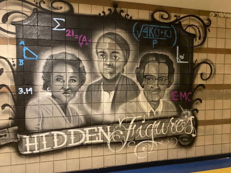 Graffiti Park Mural at Cheyenne High School. (Daniel Bulgatz)