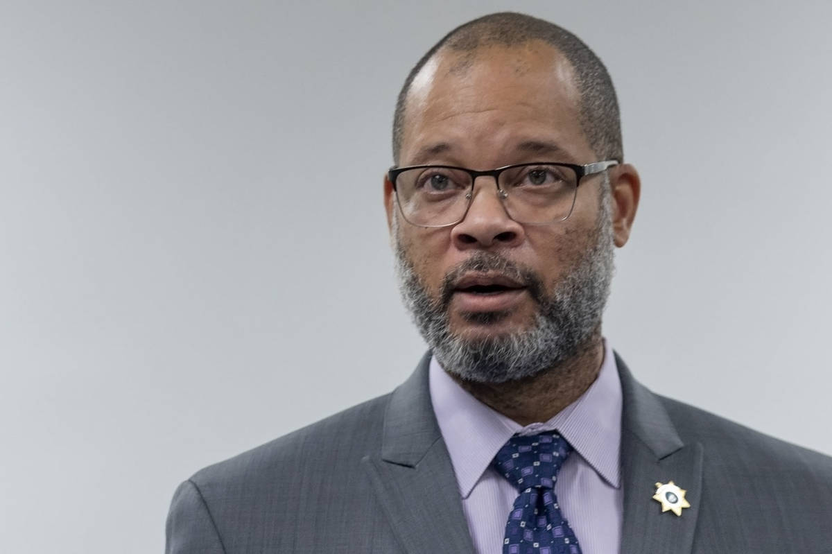 Nevada Attorney General Aaron Ford, seen in August 2020. (Las Vegas Review-Journal)