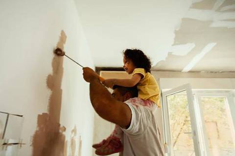 One of the best ways to change the look of a room, a new paint job really makes an impact. Whet ...
