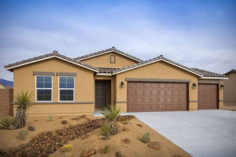 Beazer Homes' Burson Ranch community is in Pahrump. It features single-story floor plans pric ...