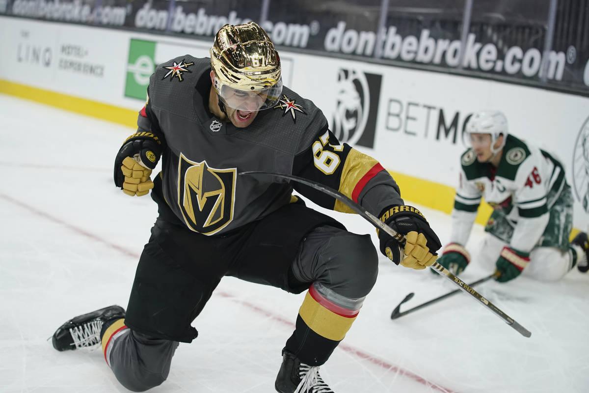 Vegas Golden Knights left wing Max Pacioretty (67). (AP Photo/John Locher)