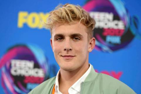 Internet personality Jake Paul is shown on Aug. 13, 2017. (Photo by Jordan Strauss/Invision/AP, ...