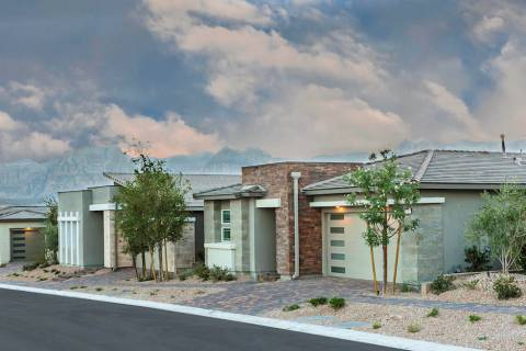 The newest neighborhood to open in the village of Stonebridge in Summerlin is Heritage by Lenna ...