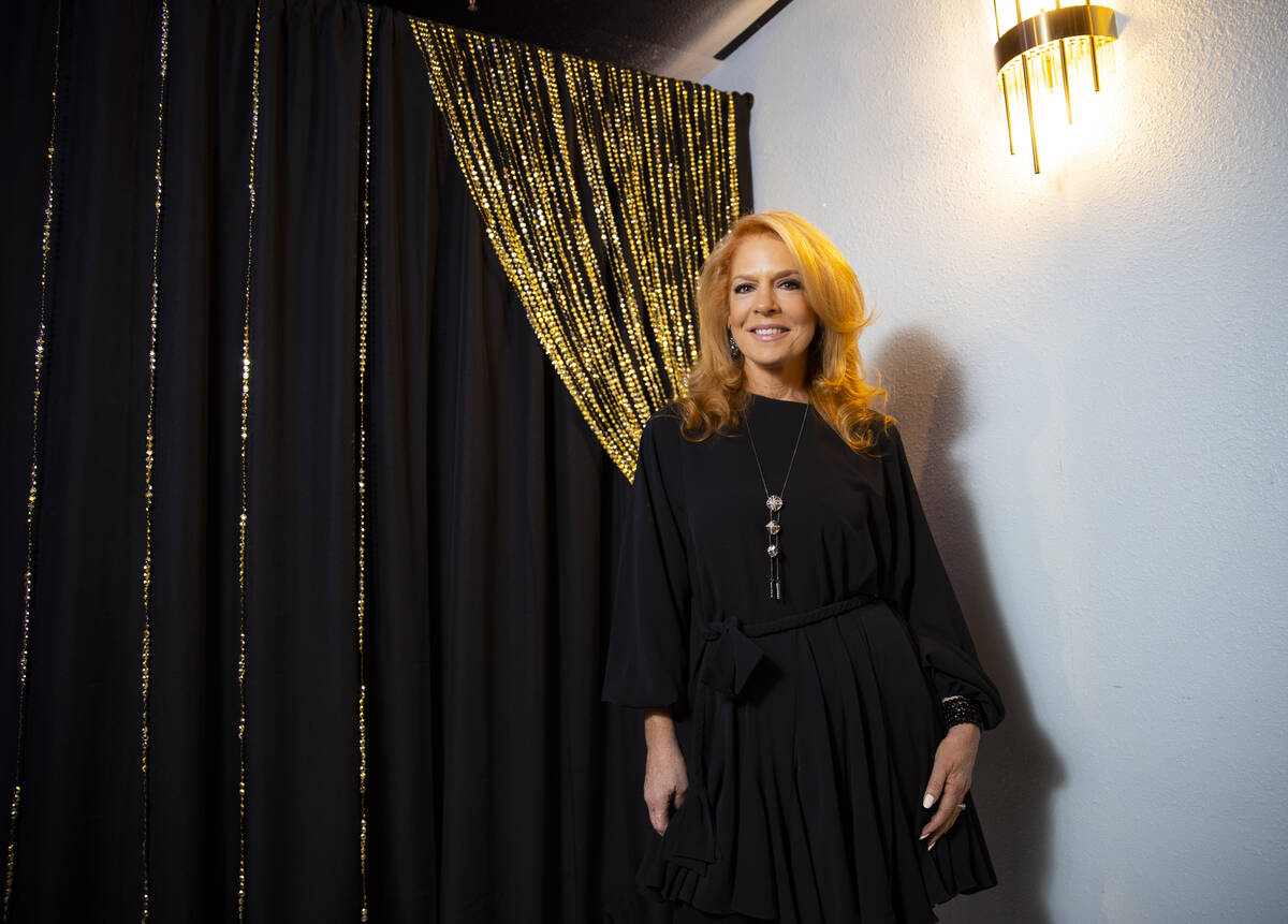 """Kelly Clinton-Holmes poses for a portrait ahead of her show, """"The Sit In,"""" at The Nev ..."""
