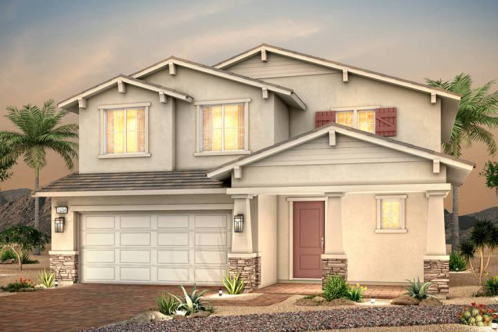 Century Communities has opened Suncrest in Cadence, a Henderson master-planned community. (Cent ...