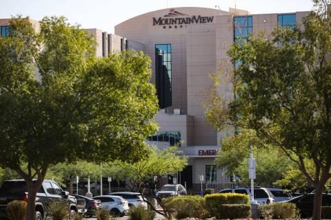 MountainView Hospital on Tuesday, Aug. 10, 2021 in Las Vegas. (Rachel Aston/Las Vegas Review-Jo ...